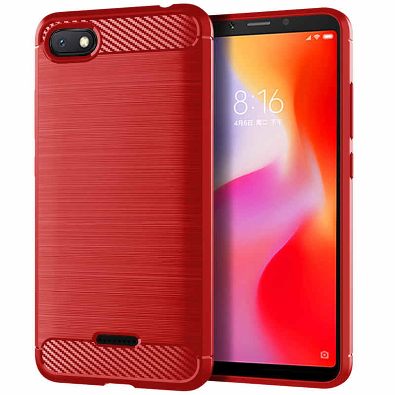 Para Xiaomi Redmi 6 un caso Redmi 6 Pro caso, cubierta trasera de silicona suave, funda de teléfono para Xiaomi Redmi 6 Un Redmi 6 Un Redmi6A redmi6 6Pro