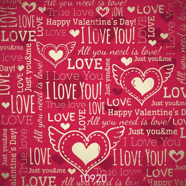 Aliexpress.com : Buy SJOLOON Valentine\'s day vinyl photography ...