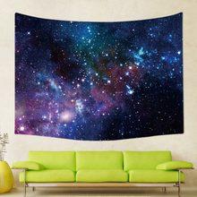24スタイルサイケデリック銀河星空タペストリー夜空壁掛け装飾ポリエステルカーテンプラス長いテーブルカバープリント