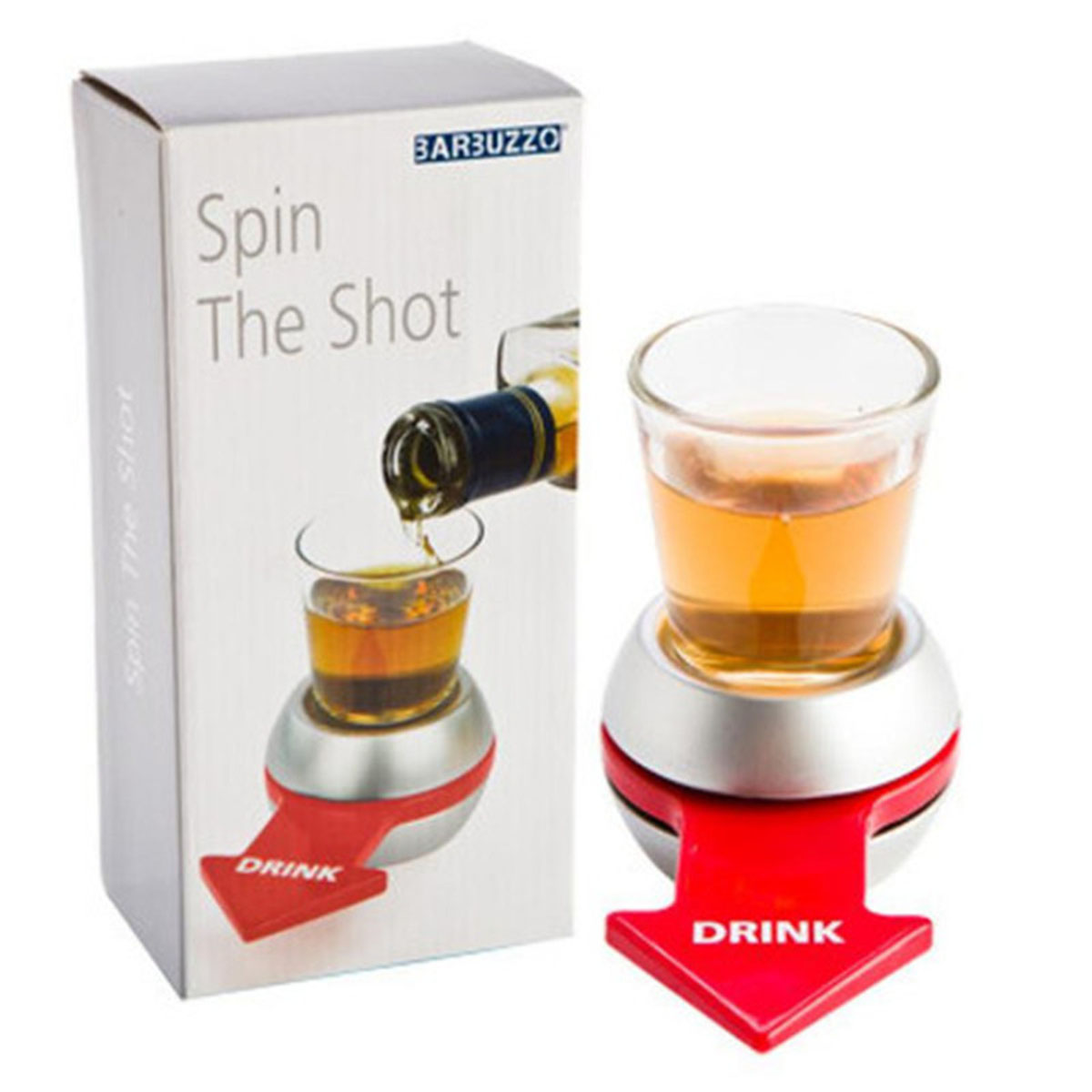 Spin The Shot Beer Glass Golf Turntable Roulette Drinking Games for Adults Arrow Pointer Turntable Wheel Bar Fun Party Joke Toys image