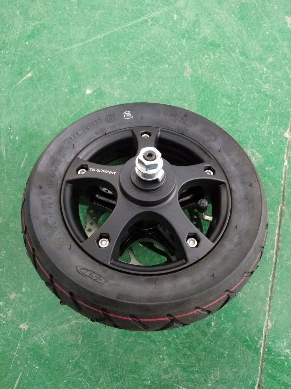 Front wheel for Dualtron II S  version Electric Scooter mp620 mp622 mp625 projector color wheel mp620 mp622 mp625