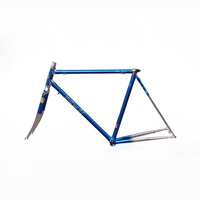 Chrome molybdenum steel fixie frame road bike frame 700 C frame 48 cm 50 cm 52 cm 54 cm road Bike frame DIY цена