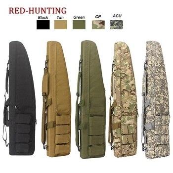 47'' 120cm/70cm/95cm Tactical Gun Bag Heavy Duty Rifle Shotgun Carry Case Bag Shoulder Bag for Outdoor Hunting 1