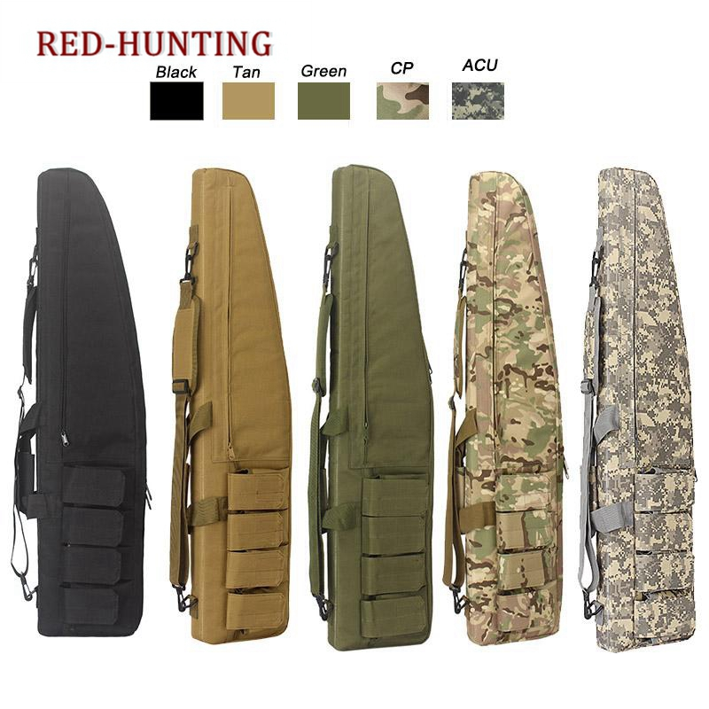 47'' 120cm/70cm/95cm Tactical Gun Bag Heavy Duty Rifle Shotgun Carry Case Bag Shoulder Bag For Outdoor Hunting