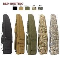 47\'\' 120cm/70cm/95cm Tactical Gun Bag Heavy Duty Rifle Shotgun Carry Case Bag Shoulder Bag for Outdoor Hunting