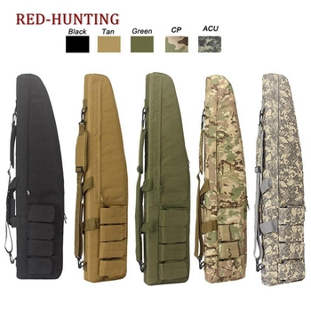 47'' 120cm/70cm/95cm Tactical Gun Bag Heavy Duty Rifle Shotgun Carry Case Shoulder for Outdoor Hunting - discount item  50% OFF Hunting