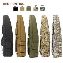 Bolsa de pistola táctica de alta resistencia, funda de transporte de rifle y escopeta para el hombre, caza al aire libre, 47 pulgadas, 120 cm/70 cm/95 cm