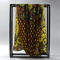 [SUMEIKE] 160*50CM Peacock Scarf Women Designer Brand Summer Scarf Chiffon Shawls Ladies Scarves