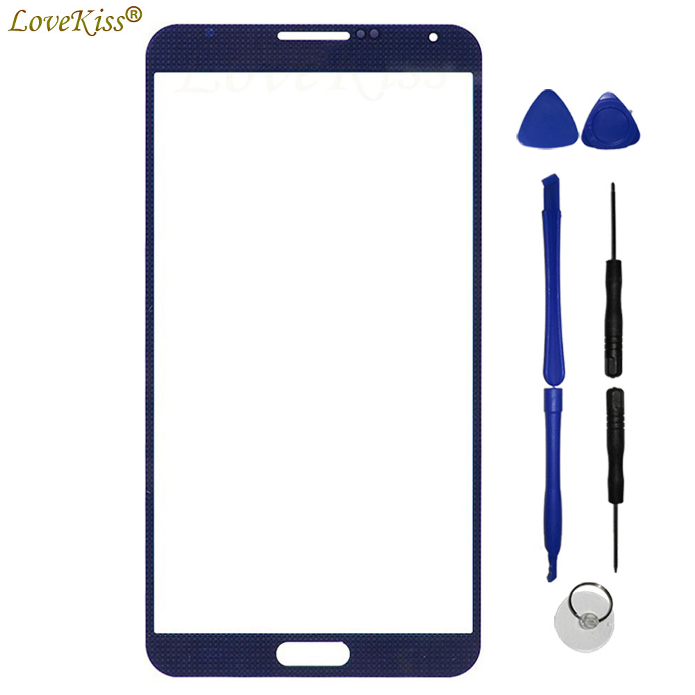 Front Panel For Samsung Galaxy Note 2 3 4 5 N7100 N9000 Note3 Neo N7505 Note5 Touch Screen Sensor LCD Dispaly Outer Glass Cover