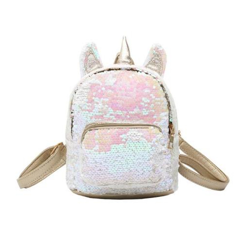 Women Sequins Unicorn Backpacks Teenage Girls Travel Large Capacity Bags Portable Party Mini School Bags Shoulder Bag For LadyWomen Sequins Unicorn Backpacks Teenage Girls Travel Large Capacity Bags Portable Party Mini School Bags Shoulder Bag For Lady