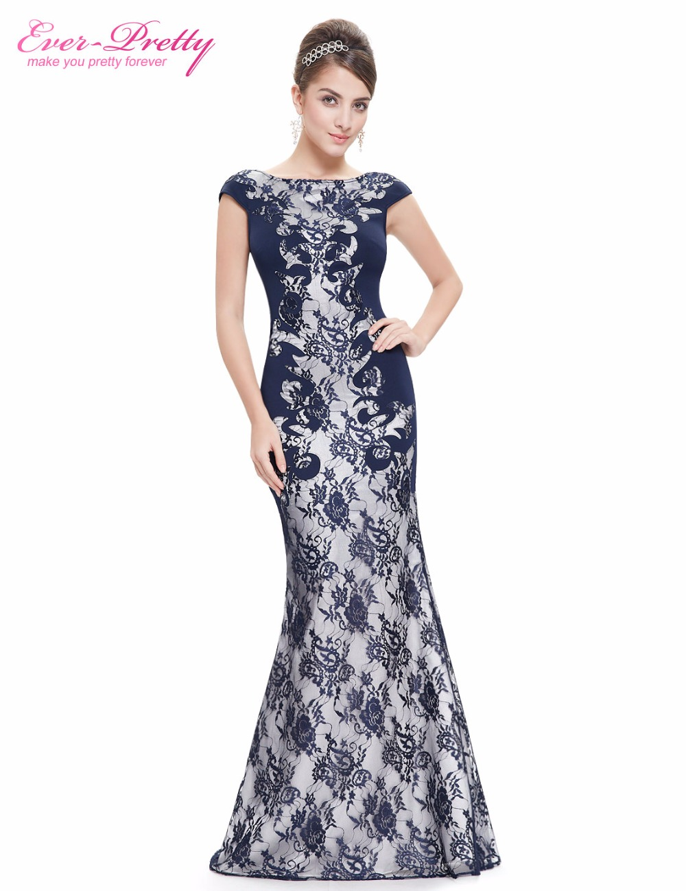 60af4b823ad Detail Feedback Questions about  Clearance Sale  Elegant Evening Dress Ever  Pretty HE08338 Unique Pattern Round Neck Sexy V neck Mermaid Party Women  Dress ...