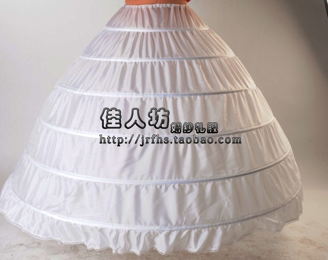 Enaguas Para El Vestido De Boda 5 Layers Ball Gown Petticoats White/red/black Big Ruffle Wedding Accessories Petticoat Wedding Accessories
