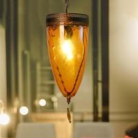 Человек кафе бар хрустальная люстра глазированные бар лампа настольная подставка под старину гладить творческий люстра