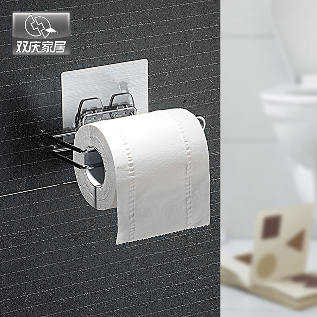Wall Mounted Type Toilet Paper Holder Metal Toilet Paper Roll