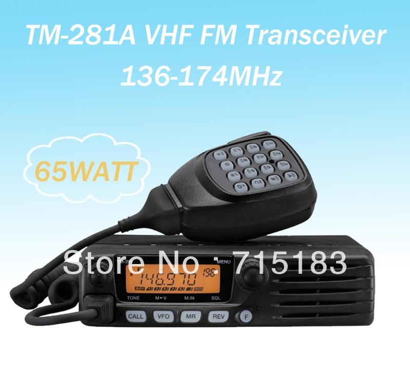 TM-281A VHF 136-174MHz FM Transceiver 65Watt 200 Memory ChannelsTM-281A VHF 136-174MHz FM Transceiver 65Watt 200 Memory Channels