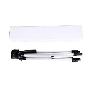 Image 5 - CY 1 pièces 130 cm professionnel caméra trépied support lumière trépied avec culbuteur pour Canon Nikon Sony DSLR appareil photo avec clip de téléphone
