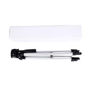 Image 5 - CY 1 sztuk 130 cm profesjonalny statyw kamery stojak światła statyw z wahacz dla Canon Nikon Sony DSLR Camera z klips do telefonu