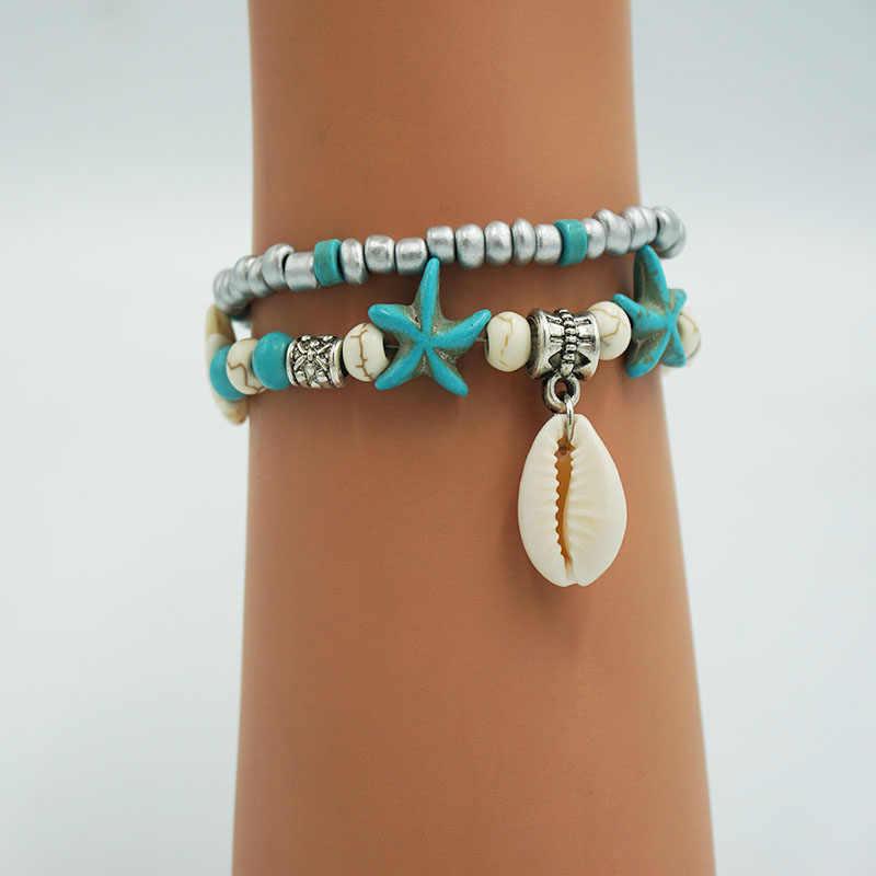 女性のシェルネックレス天然貝殻チョーカーネックレスファッションビーチ巻き貝 Concha 委員会 collares ゴールドチェーンネックレス