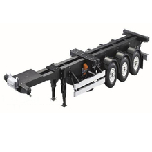 цена на 1/14 Scale 20FT 40FT Aluminium Frame Container trailer frame Kit For RC Tamiya Scania R620 Actros Trailer