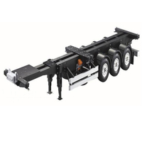 1/14 Scale 20FT 40FT Aluminium Frame Container trailer frame Kit For RC Tamiya Scania R620 Actros Trailer