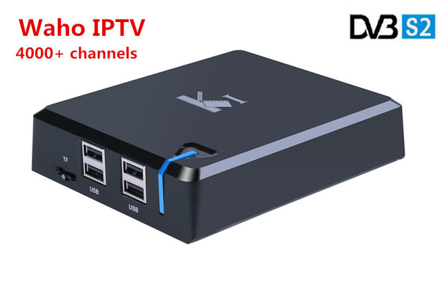 US $84 0 |K1 Android DVB S2 + IPTV with 4000+ channels satellite Decoder  Albanian French Germany UK, Arabic Isreal Indian Pakistan -in Set-top Boxes