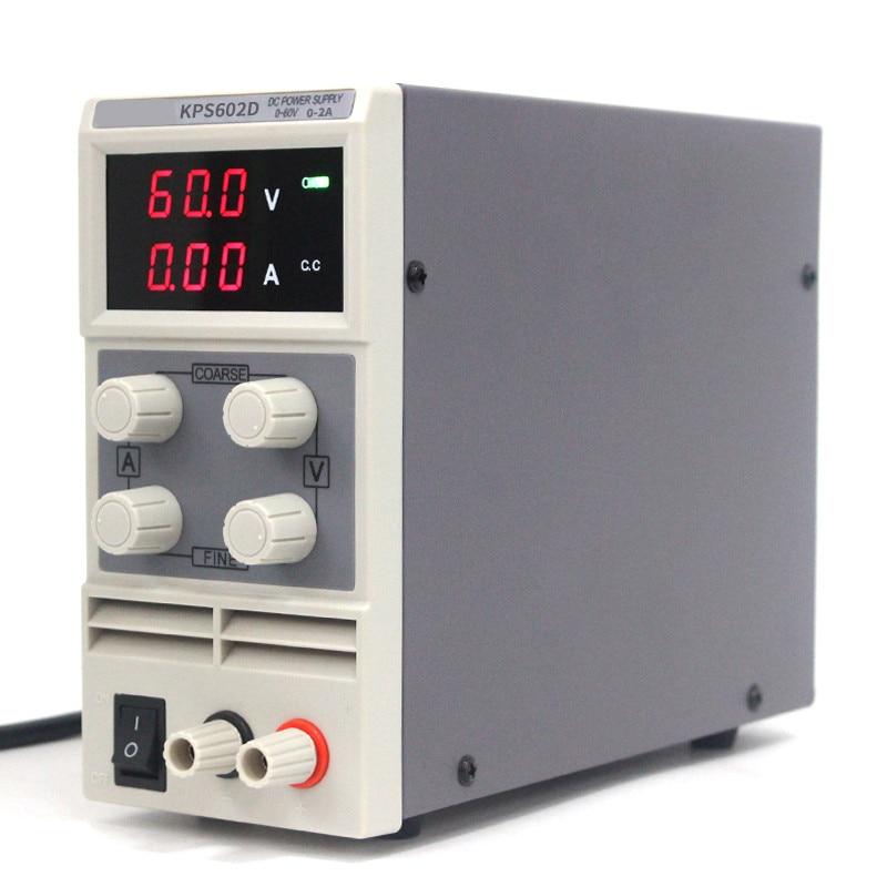 KPS602D 60 V 2A alimentation cc numérique réglable à sortie unique