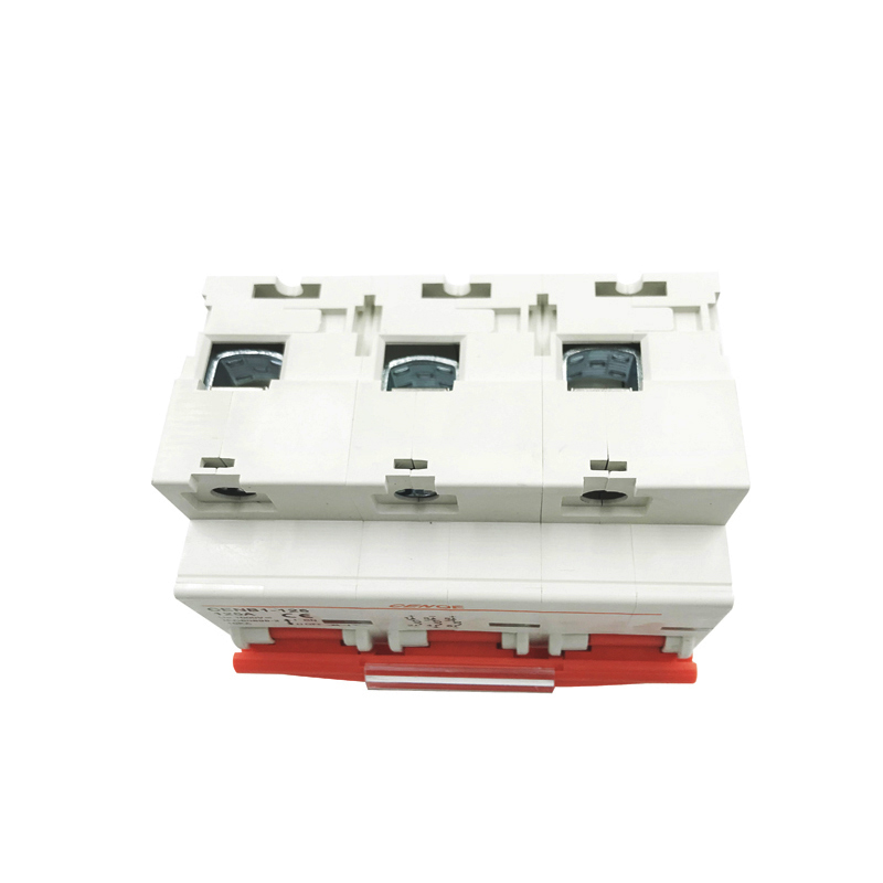 CENOE 3P1000V 125A 100A 80A 63A dc breaker solar 1000A high breaking current MCB for global big capacity solar power generation