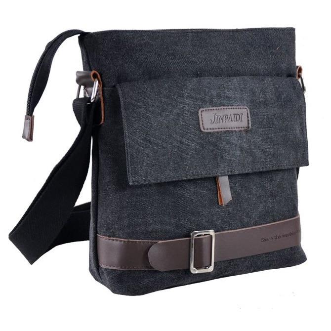 Fashion Men's Canvas Bags Men Messenger Casual Man Bag Small Male Shoulder