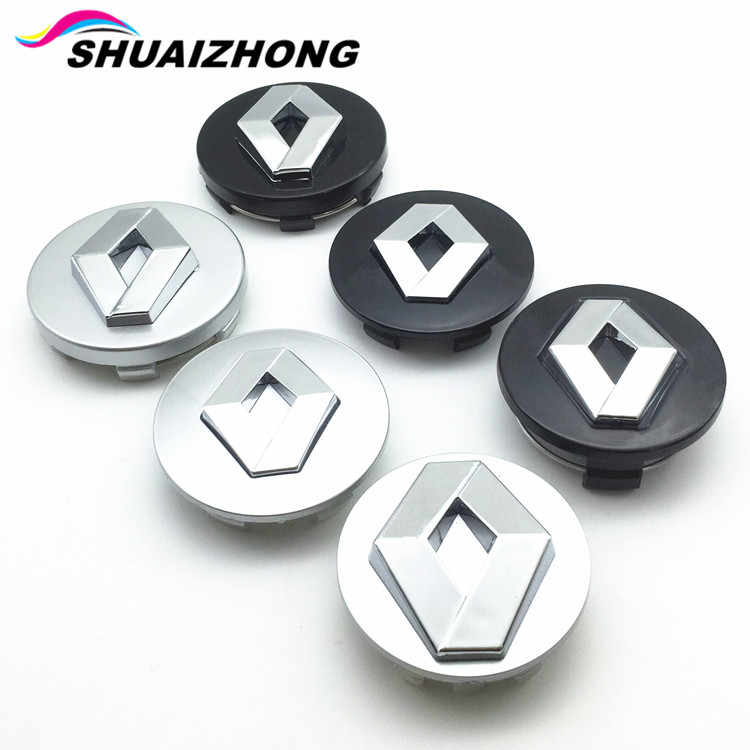 4Pcs 65mm Car Wheel Center Hub Caps Covers Emblems Logo For Mazda Silver