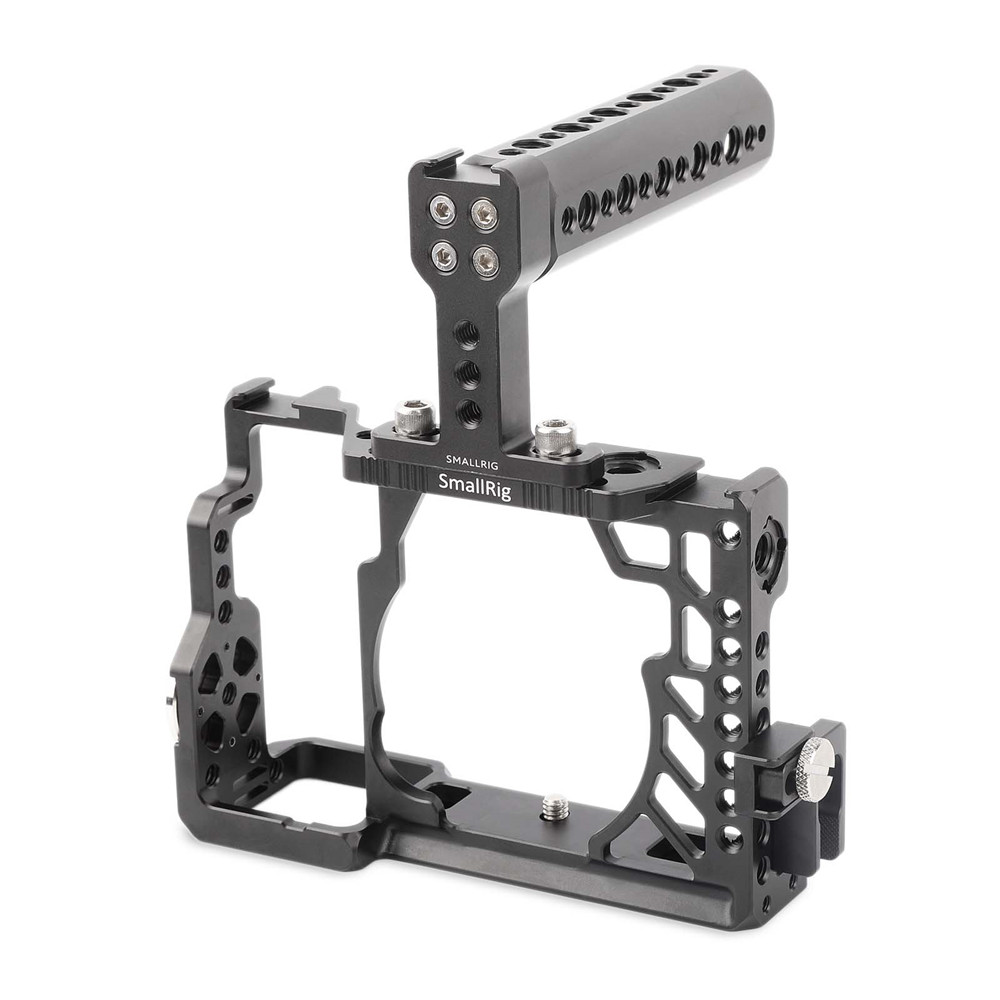 SmallRig Cage Kit For Sony A7/A7R/A7S Handheld Rig With Top Handle HDMI Cable Clamp it8712f a hxs