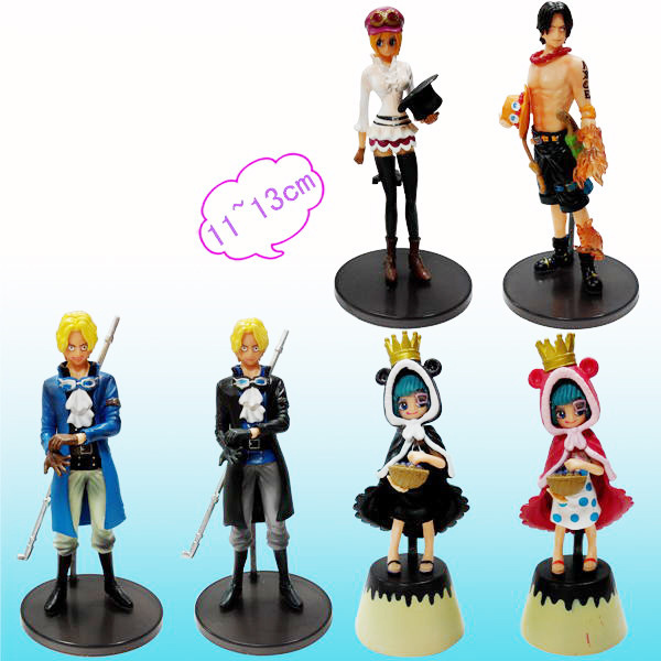 anime one piece Ace sabot model Garage Kit pvc action figure classic collection toy for children 4parts sets super lovely chopper anime one piece model garage kit pvc action figure classic collection toy doll