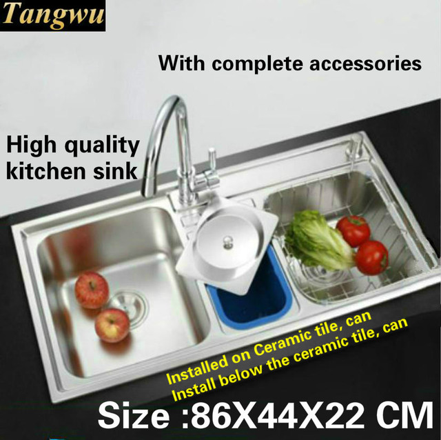 Tangwu multi function large kitchen sink food grade 304 stainless tangwu multi function large kitchen sink food grade 304 stainless steel 1 mm thick workwithnaturefo