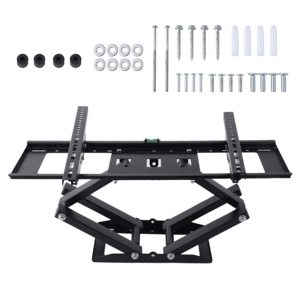 Swivel Tilt TV Wall Mount Bracket For 32-65 Inch LED LCD Plasma TVs High Performance TV Holder Durable Television Bracket new universal adjustable tilt tilting tv wall mount bracket for samsung lcd led plasma max 165 lbs 23 37inch