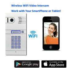 WiFi Wireless Video Door Phone System Wireless Control IP Camera Video Intercom Remote Control Smart Doorbell