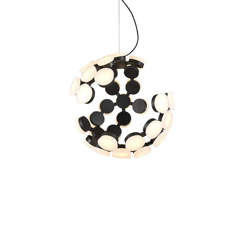 Lustres Decor Modern Pendant Lights Fixtures Ball Round Design Hanging Lamp Dining Living Room Restaurant Suspension Lighting