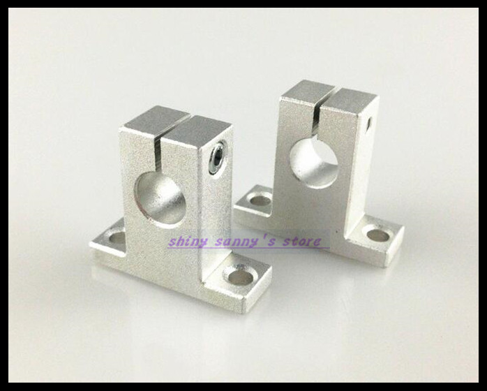2Pcs/Lot SK25  25mm Linear Rail Shaft Guide Support CNC Brand New 2pcs lot sk25 25mm linear rail shaft guide support cnc brand new