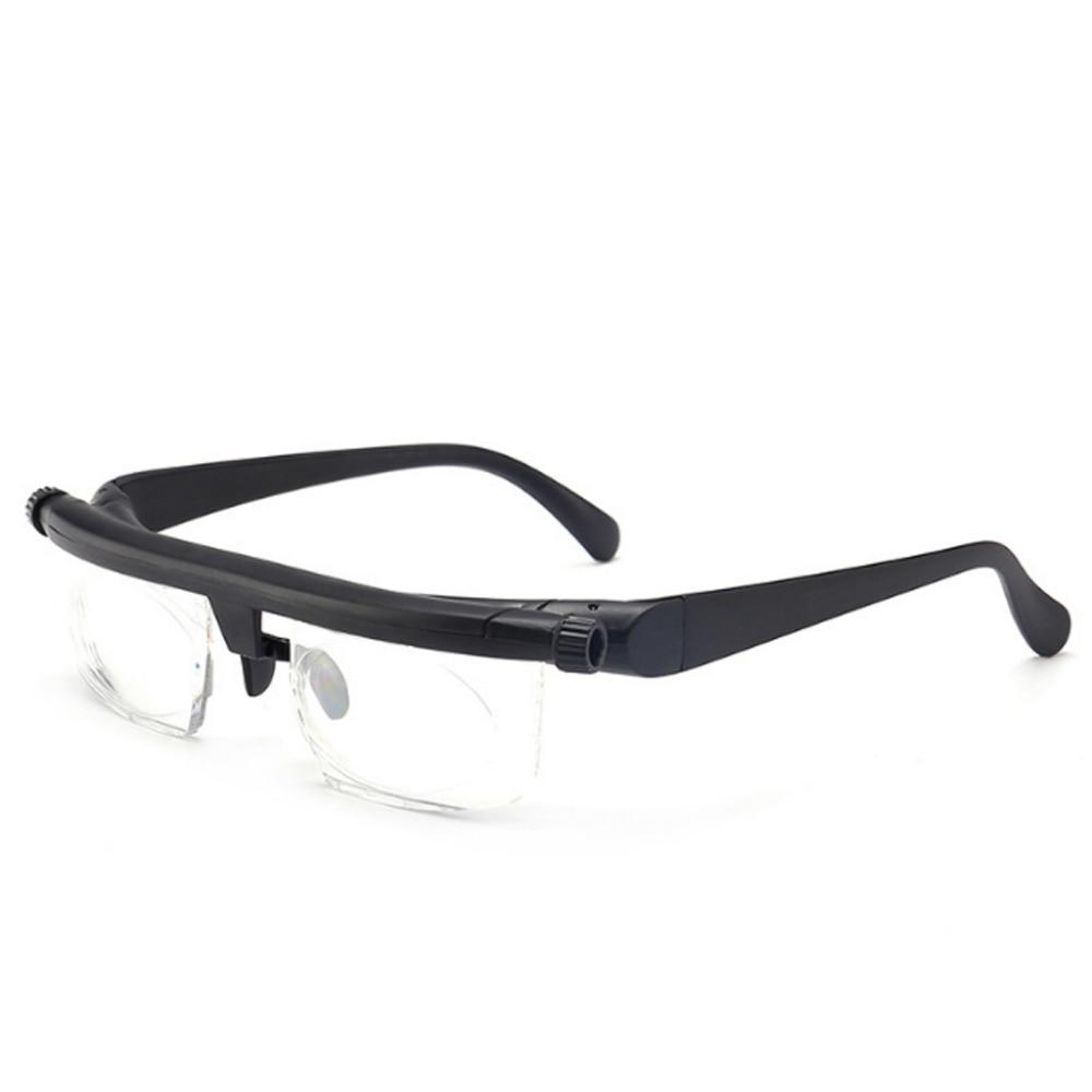 Fuerza ajustable de la Lente de la lectura de la miopía gafas enfoque Variable visión