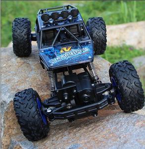 Image 4 - 1:12 1:16 voiture RC 4WD 4x4 télécommande 2.4G Bigfoot, modèle Buggy véhicule tout terrain, camions descalade, jouets pour garçons, cadeau pour enfants, jeeps