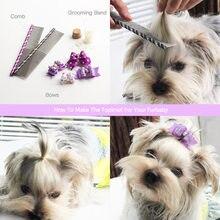10 Piece Handmade Dog Bows