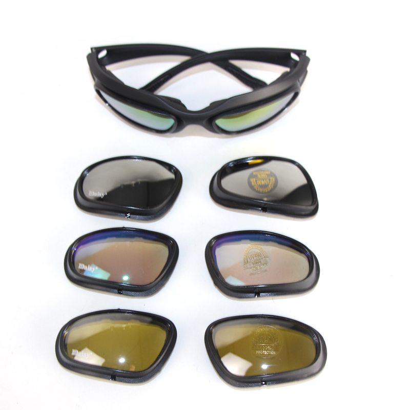 Orologi E Gioielli Ciondoli Sunglasses Tactical Polarized Army Goggles Sunglasses Men Military Sun Glasses For Mens Desert War Goggles