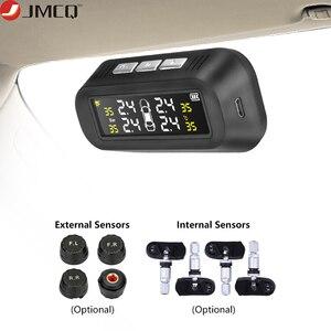 JMCQ Solar TPMS Car Tire Press