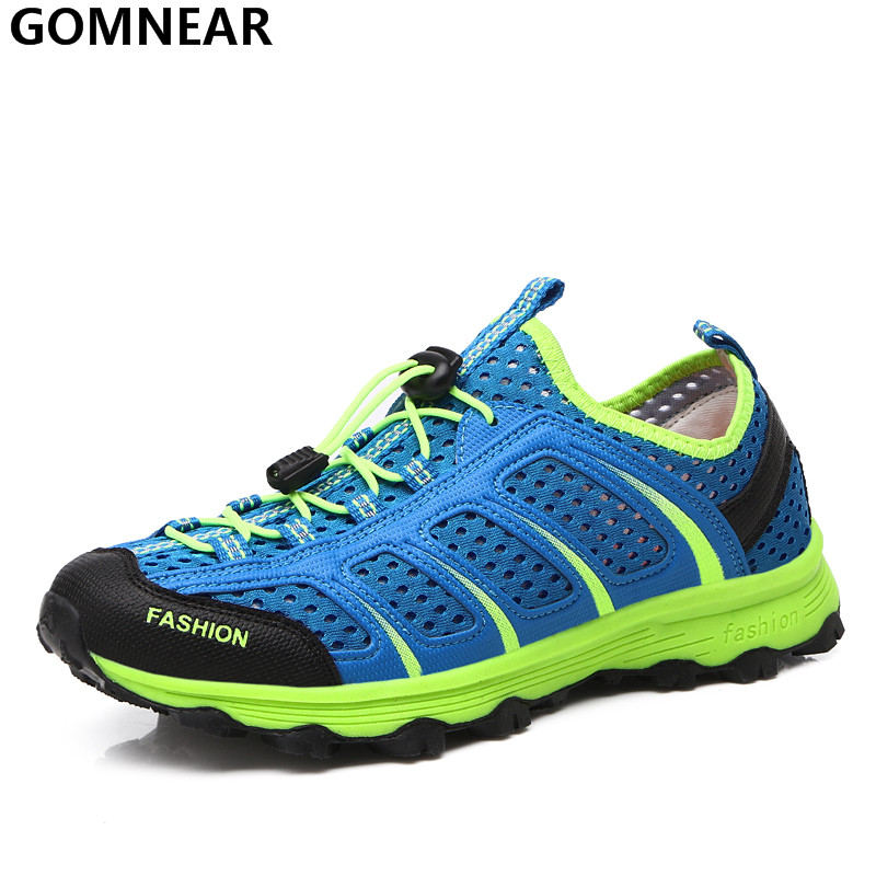 GOMNEAR Men's Breathable Hiking Shoes Outdoor Antiskid Wear Walking Athletic Shoes Comfortable Warmth Breathable mesh Sport Shoe peak sport speed eagle v men basketball shoes cushion 3 revolve tech sneakers breathable damping wear athletic boots eur 40 50