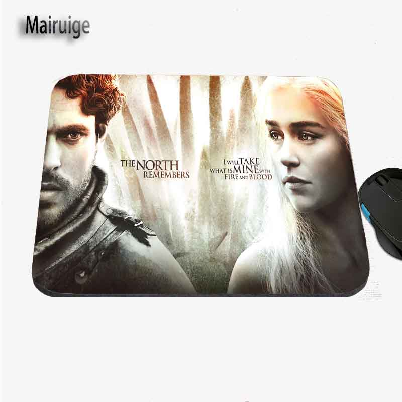 Hot Sales Custom Game of Thrones Pattern Game Speed Control Non-slip Rubber Players Table Mats for Notebook PC CSGO DOtA