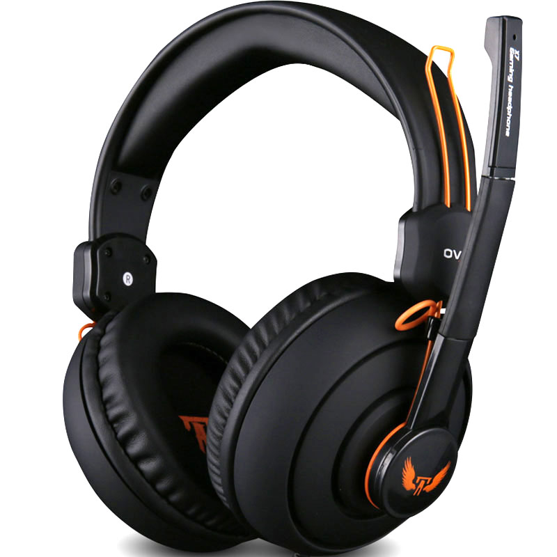 Gaming Headphone Big Headset With Microphone Earphone Gamer Studio Bass Noise Isolating Brand Ovann 3.5mm x7