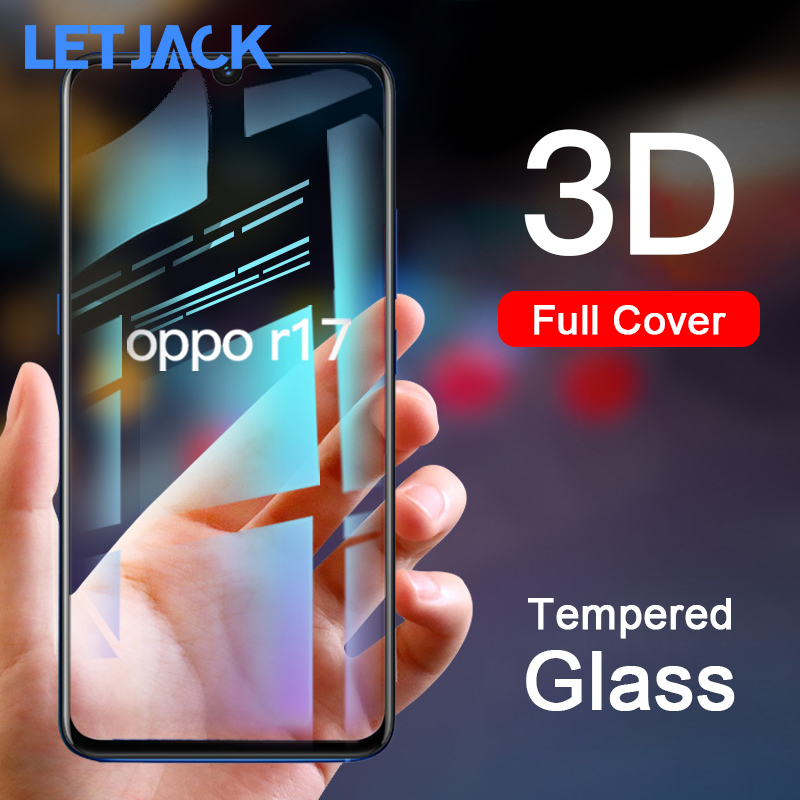 3D Carbon Fiber Edge Soft Film Full Cover Screen Protector Protective for OPPO R17 R15 R15X Tempered Glass for OPPO F7 A3 A5 A1