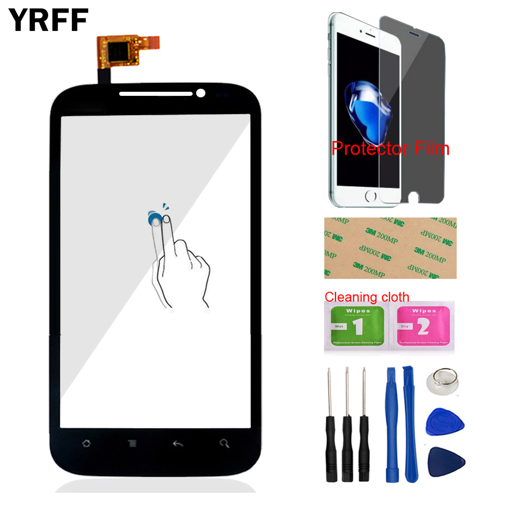 4.5'' Moile Touch Panel For <font><b>DNS</b></font> <font><b>S4501</b></font> Touch Screen Digitizer Panel Glass Lens Sensor Front Glass Protector Film Tools Adhesive image