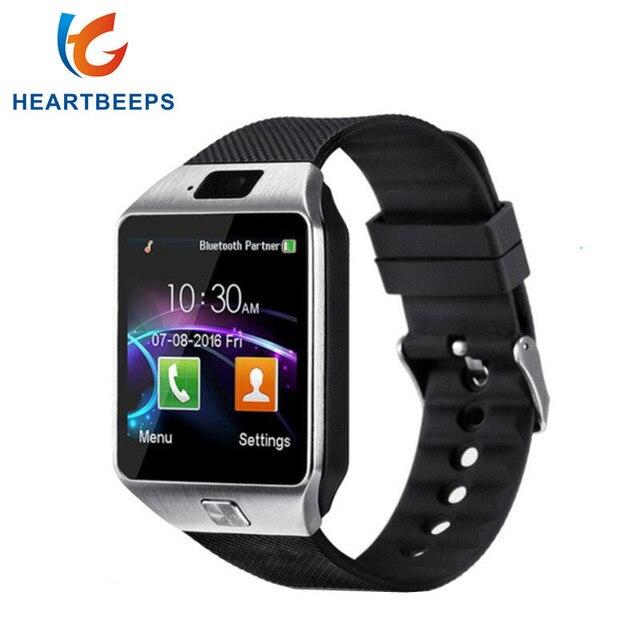 Montre intelligente DZ09 poignet numérique avec hommes Bluetooth électronique carte SIM Sport Smartwatch pour iPhone Samsung téléphone Android
