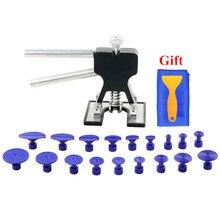 Инструменты для безболезненного ремонта вмятин набор инструментов для удаления вмятин клеевые вкладки инструменты для удаления вмятин автомобиля бесплатный подарок