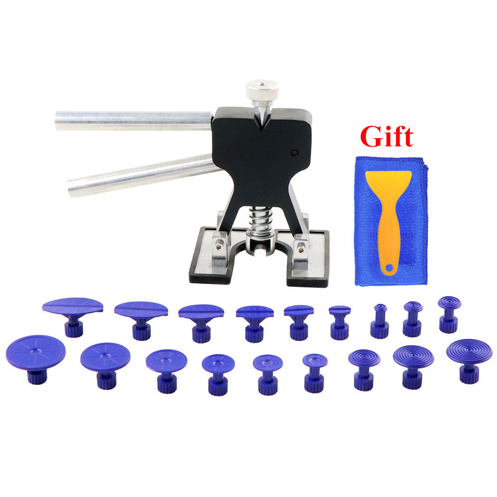PDR Tools Paintless Dent Repair Tools Set PDR Dent Lifter PDR Glue Tabs Auto Body Dent Removal tools Car Dent Removal free gift-in Sheet Metal Tools Set from Automobiles & Motorcycles
