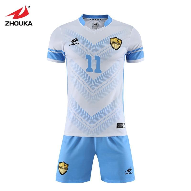 7dbbc8d73 Sublimation Printing Wholesale Custom Futbol Club Team Uniform Football  Shirt Spain Jerseys Soccer Kit Soccer jersey-in Soccer Sets from Sports ...